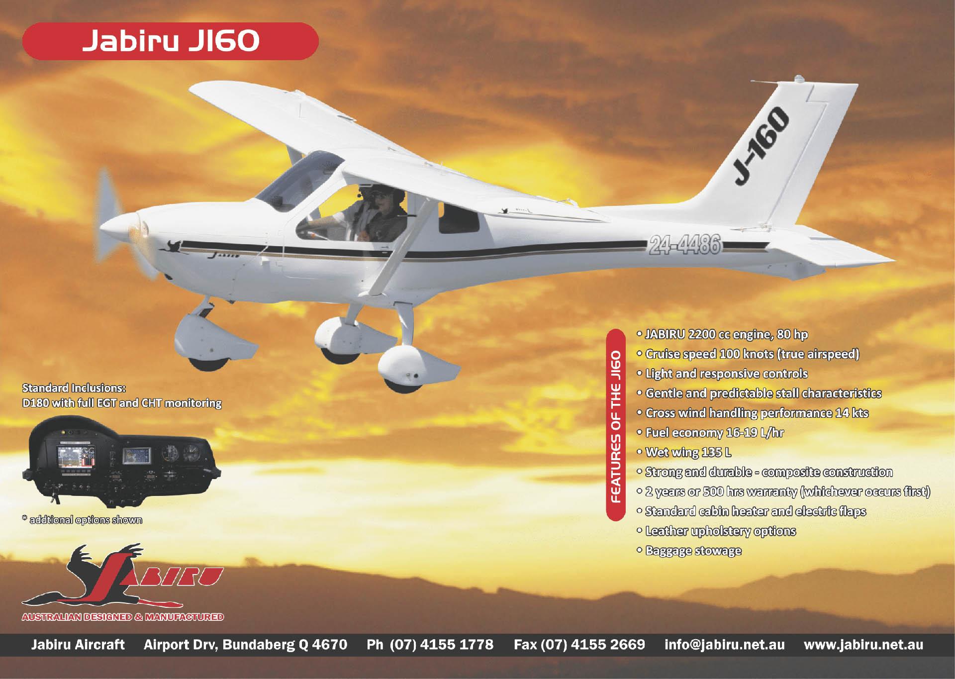 J160-D - Jabiru