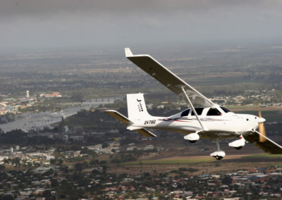 Jabiru J230 over Bundaberg